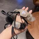 Nihaojewelry Korean style pearl rhinestone bow hair rope wholesale jewelry NHCQ380909