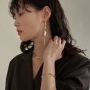Nihaojewelry wholesale jewelry natural pearl long tassel earrings irregular necklace NHGI381288