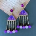 NHOM1761332-Purple-Silver-Needle-Stud-Earrings-12CM-80g