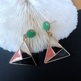 NHOM1761380-Triangle-color-matching-stud-earrings-3.5CM