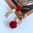 NHOM1761453-Asymmetric-Flower-Silver-Needle-Stud-Earrings-5.