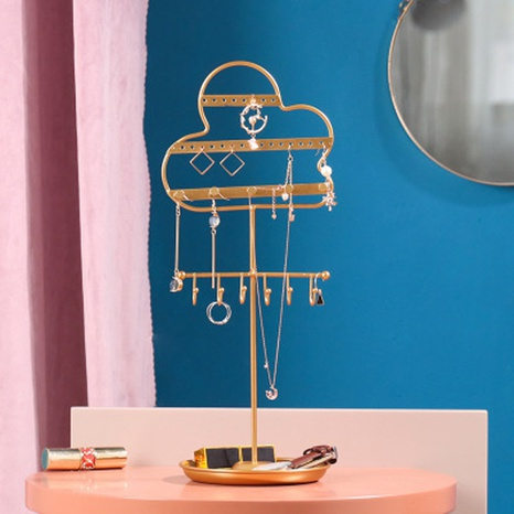 Nihaojewelry wrought iron wall-mounted jewelry stand wholesale accessories  NHAW381782's discount tags