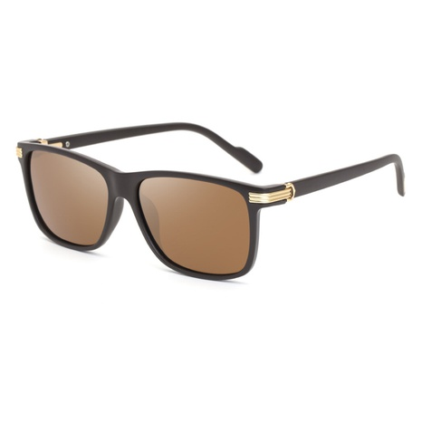 Wholesale Accessories Simple Square Frame Polarized Sunglasses Nihaojewelry NHLMO381824's discount tags