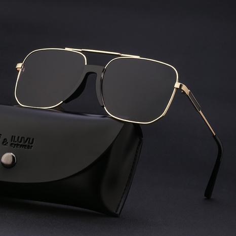 wholesale accessories retro double beam sunglasses Nihaojewelry NHLMO381827's discount tags