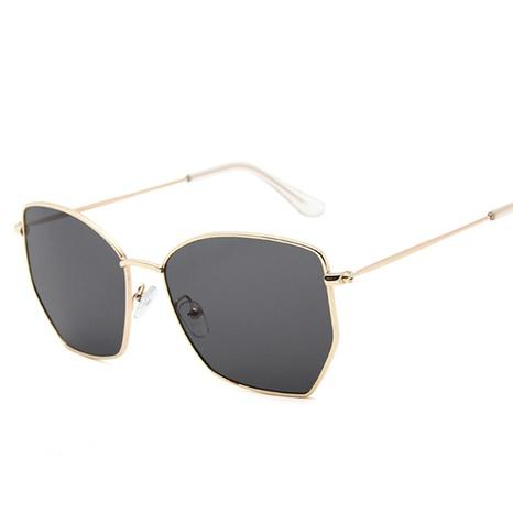 wholesale accessories irregular metal transparent color sunglasses Nihaojewelry NHVM381356's discount tags