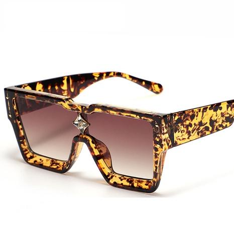 wholesale jewelry fashion geometric diamond square sunglasses Nihaojewelry NHVM381358's discount tags