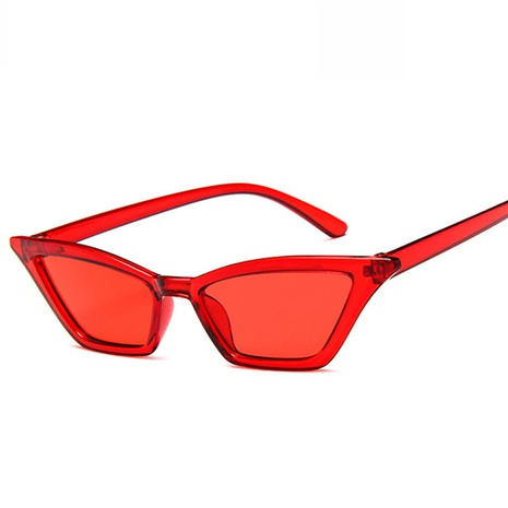 wholesale accessories small frame jelly color gradient cat eye sunglasses Nihaojewelry NHVM381386's discount tags