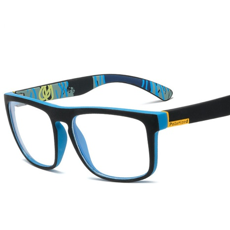 wholesale simple printing square frame glasses nihaojewelry  NHVM381411's discount tags