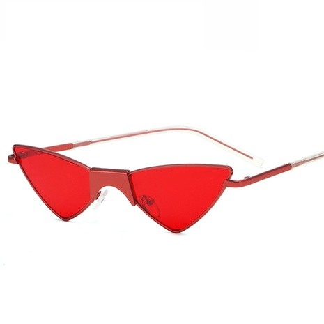 wholesale accessories triangle cat eye candy color sunglasses Nihaojewelry NHVM381412's discount tags