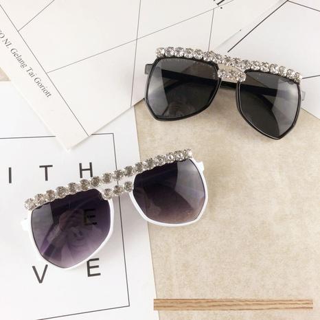 vente en gros accessoires lunettes de soleil diamant grande monture Nihaojewelry NHMSG381484's discount tags
