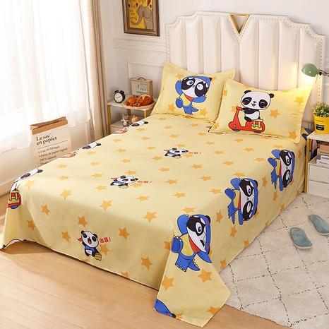 cartoon panda pattern printing bedding four-piece set wholesale nihaojewelry  NHBWJ402142's discount tags