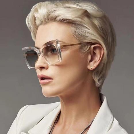 fashion UV protection cat eye big frame sunglasses wholesale nihaojewelry NHLMO401887's discount tags