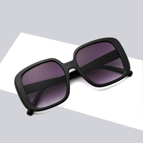 fashion retro square frame contrast color leopard sunglasses wholesale nihaojewelry NHBA401930's discount tags