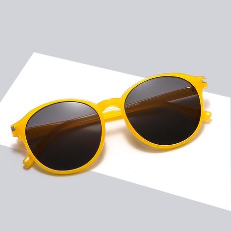 Fashion Korean Colorful Frame Contrast Color Sunglasses Wholesale Nihaojewelry NHBA401936's discount tags
