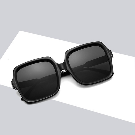 new fashion contrast color square gradient color sunglasses wholesale nihaojewelry NHBA401942's discount tags