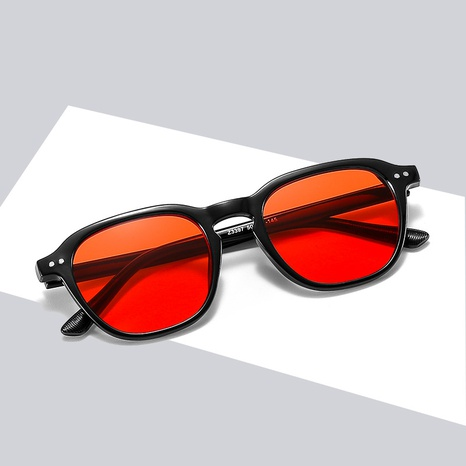 The new fashion korean small frame candy color anti-ultraviolet sunglasses wholesale nihaojewelry NHBA401944's discount tags