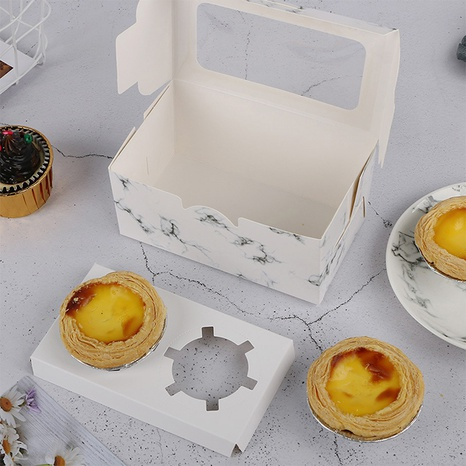 2 pieces of marbled cake muffin cup 5 combinations wholesale Nihaojewelry  NHNU403390's discount tags