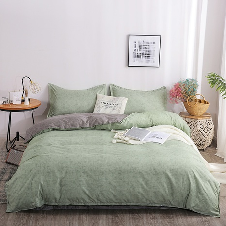 wholesale two color geometric bedding four-piece set nihaojewelry  NHGAD403060's discount tags