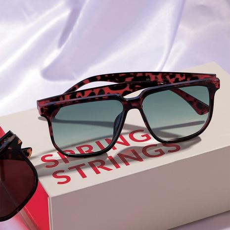 new fashion big frame square colorful frame sunglasses wholesale nihaojewelry NHXU403251's discount tags