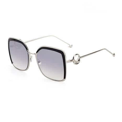 fashion retro big frame colorful lens sunglasses wholesale nihaojewelry NHLMO401896's discount tags