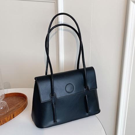 neue trendige einfarbige Unterarm-Einkaufstasche Großhandel Nihaojewelry NHGN403712's discount tags