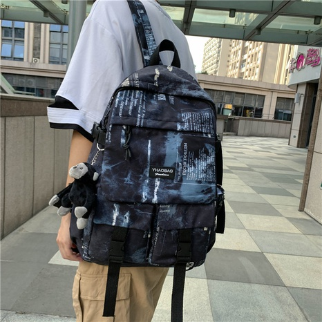 fashion graffiti large capacity backpack wholesale Nihaojewelry NHTW403853's discount tags