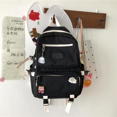College-Stil, der Rucksack mit großer Kapazität im Großhandel etikettiert Nihaojewelry NHTW403848's discount tags