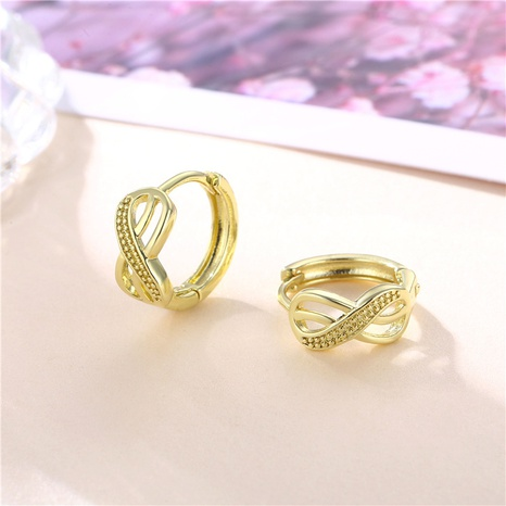 wholesale jewelry number 8 copper earrings nihaojewelry  NHAC404367's discount tags