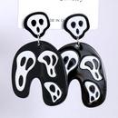 Halloween Geometric Resin Earrings wholesale jewelry Nihaojewelry NHJJ404378