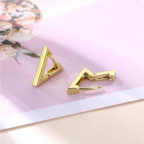 wholesale jewelry geometric triangle earrings nihaojewelry  NHAC405058's discount tags