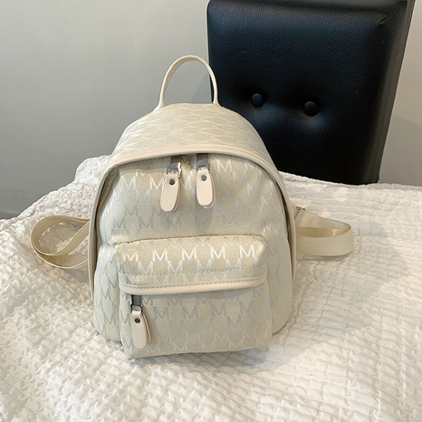 fashion letter peinting zipper backpack wholesale Nihaojewelry  NHGN405955's discount tags