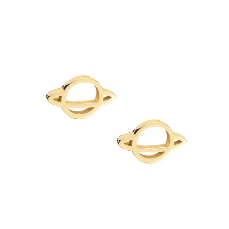 Großhandel Schmuck Universum Saturn Edelstahl Ohrstecker nihaojewelry NHRV406184's discount tags