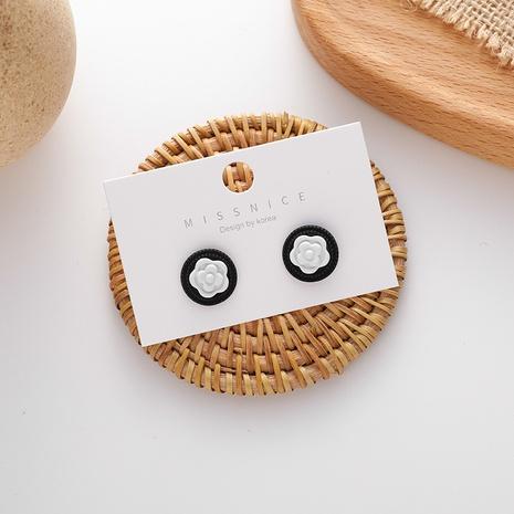 Großhandel Schmuck niedliche Kamelienform Ohrstecker nihaojewelry NHMS406582's discount tags