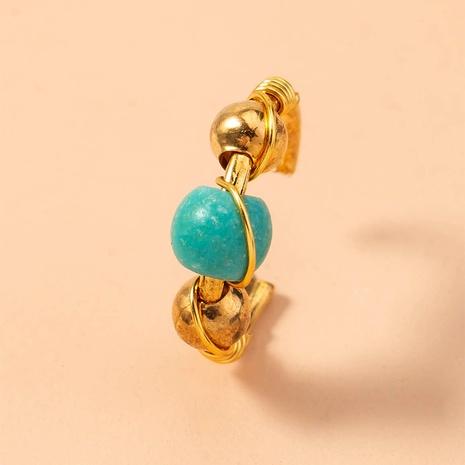 Mode Türkis Perlen handgemachte Wicklung Nasenring Großhandel Nihaojewelry NHDB406718's discount tags