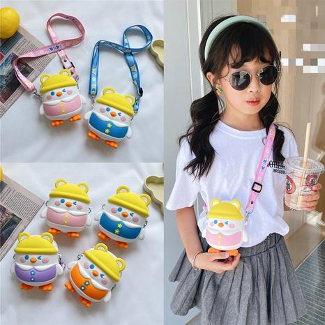 wholesale cute cartoon figure shape messenger children bag nihaojewelry  NHTG406951's discount tags