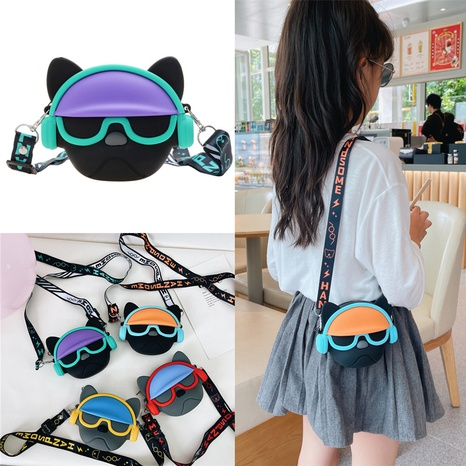 wholesale cartoon shape shoulder messenger children's bag nihaojewelry  NHTG406955's discount tags