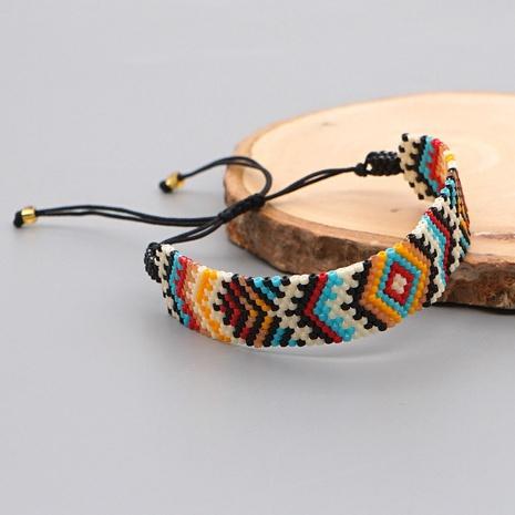 Miyuki beads handmade geometric ethnic style bracelet wholesale jewelry Nihaojewelry NHBDB395487's discount tags