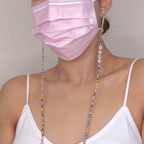 Multifunktionale Rainbow Bead Glasses Chain Halskette Armband Großhandel Schmuck Nihaojewelry NHBDB395492's discount tags