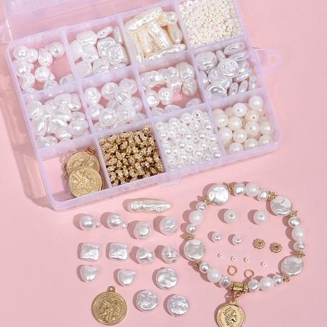 weiße Perle DIY Armband Material Box 12 Gitter Set Zubehör Großhandel Nihaojewelry NHLL395818's discount tags
