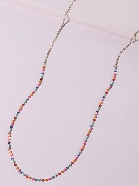 Großhandel Böhmische Farbe Erbsen Geometrische Taillenkette Nihaojewelry NHLU395939's discount tags