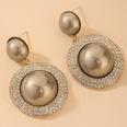 NHNJ1842128-Silver-Post-Grey-Pearl-Earrings