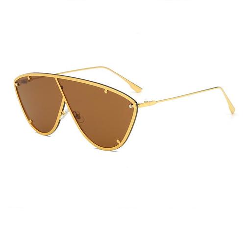 Frame metal one-piece sunglasses wholesale Nihaojewelry NHZIH401820's discount tags