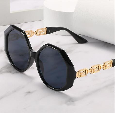 Polygon metal leg sunglasses wholesale Nihaojewelry NHZIH401819's discount tags