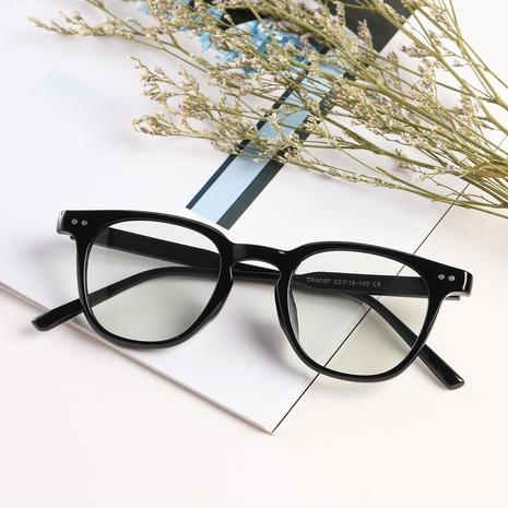 Retro-Rundrahmennieten Blu-ray-Flachbrille Großhandel Nihaojewelry NHXU407183's discount tags