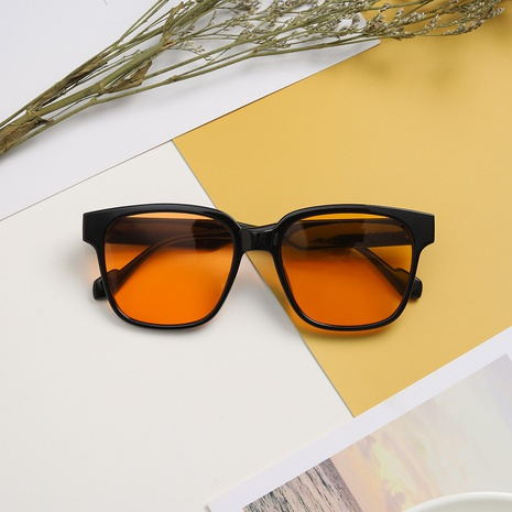 Koreanischer großer quadratischer Rahmen populäre Farbverlaufssonnenbrille Großhandel nihaojewelry NHXU407187's discount tags