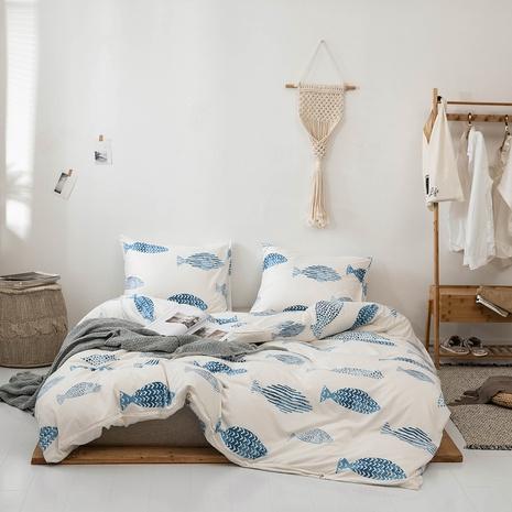 Drucken Mode Bettbezug Bettwäsche dreiteilige Sets Großhandel Nihaojewelry NHBOM407595's discount tags