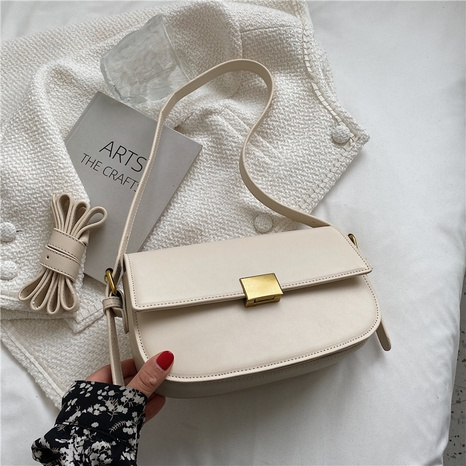 fashion texture single shoulder messenger saddle bag wholesale Nihaojewelry NHGN407911's discount tags