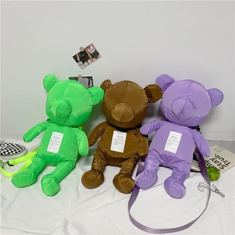 Mode Big Bear Cartoon One-Shoulder-Umhängetasche Großhandel nihaojewelry NHGN407920's discount tags