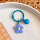 Korean Color Flower Bell Keychain Candy Color Macaron Flower Keychains NHWQ408767