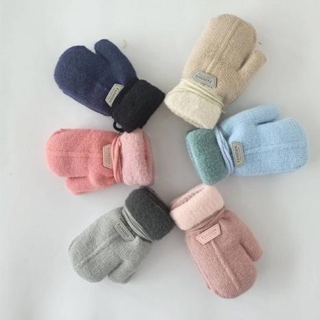 Mode Kinder Samt gepolsterte Handschuhe Großhandel Nihaojewelry NHDM408428's discount tags